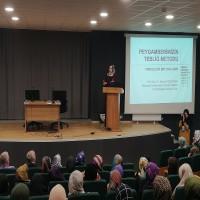 AİBÜ İlahiyat Fakültesi'nin 18.04.2018 tarihinde saat 14:30'da düzenlediği